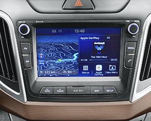 Sistema de GPS integrado - Creta