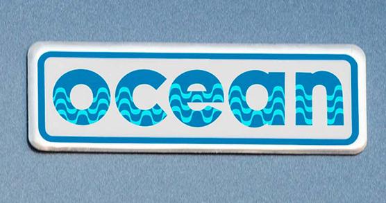 Emblema OCEAN nos paralamas - HB20 Ocean